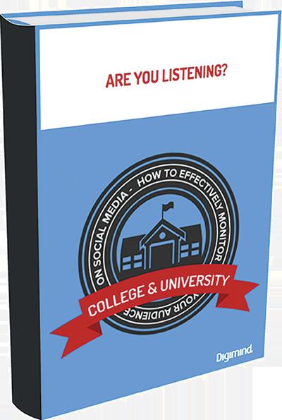Social media listening for Universities ebook