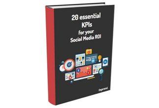 KPIs for your social media ROI ebook